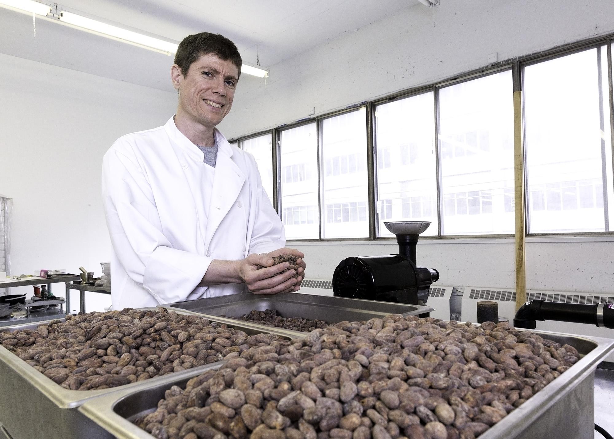 Daniel Haran, founder, Chocolats Monarque. Photo by Carla Oliveira.