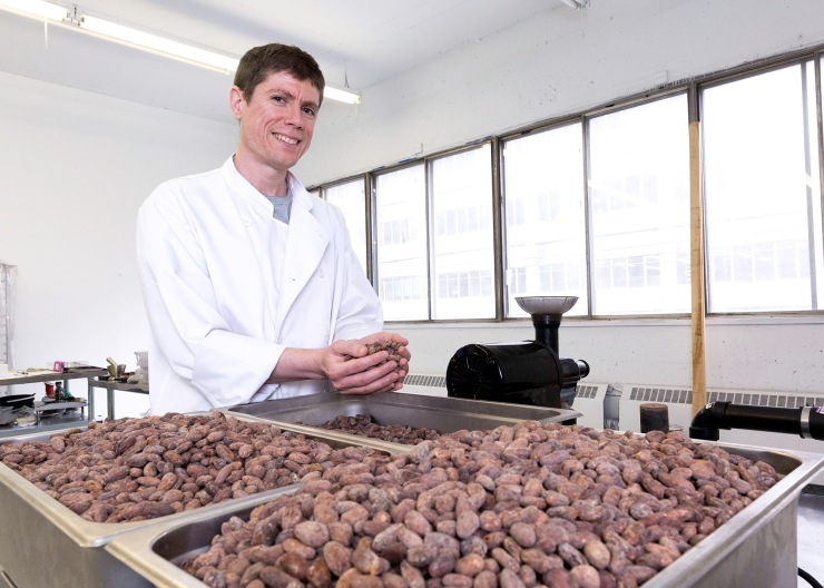 Daniel Haran, founder, Chocolats Monarque. Photo by Carla Oliveira.