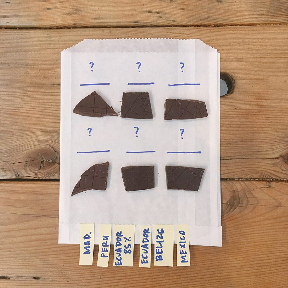 Chocolate Envelopes